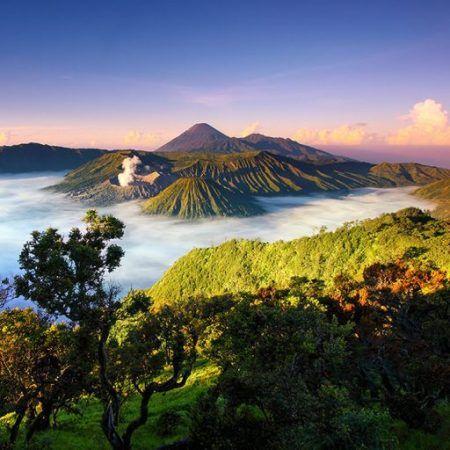 Gunung Bromo Indah Pemandangan National Geographic Taman Nasional