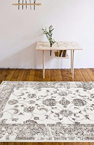 4535 Distressed Cream 7 10x10 6 Area Rug Carpet Large New With