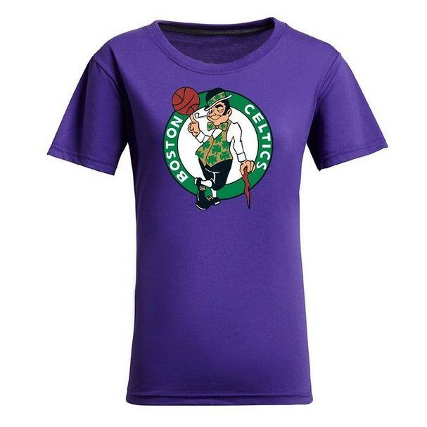 awesome NBA Ladies' Boston Celtics Cotton Jersey Tee (Purple)