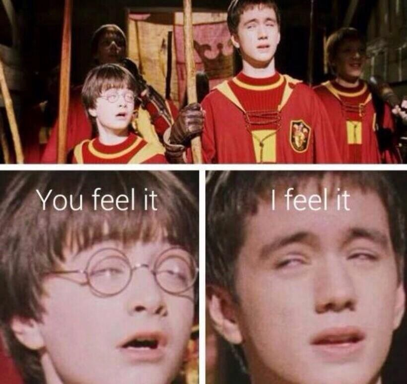 POTTER, HIGH AS HELL!!! XD