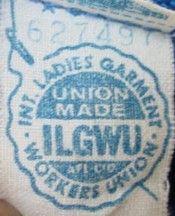 datation des étiquettes ILGWU Muskegon datant