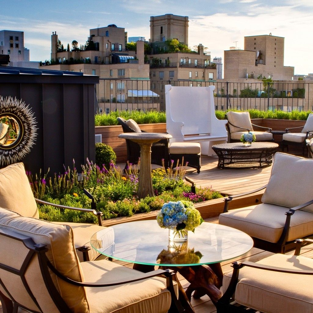 The Surrey (New York City, NY Rooftop, Best rooftop bars