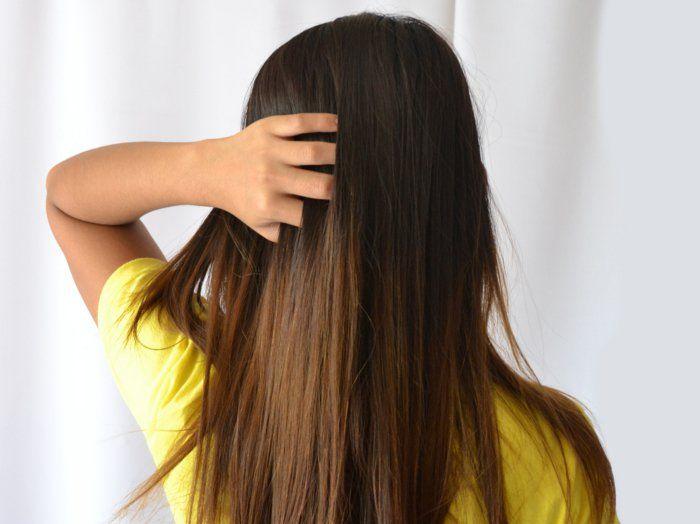 was tun gegen fettige haare haarmaske langes glattes haar