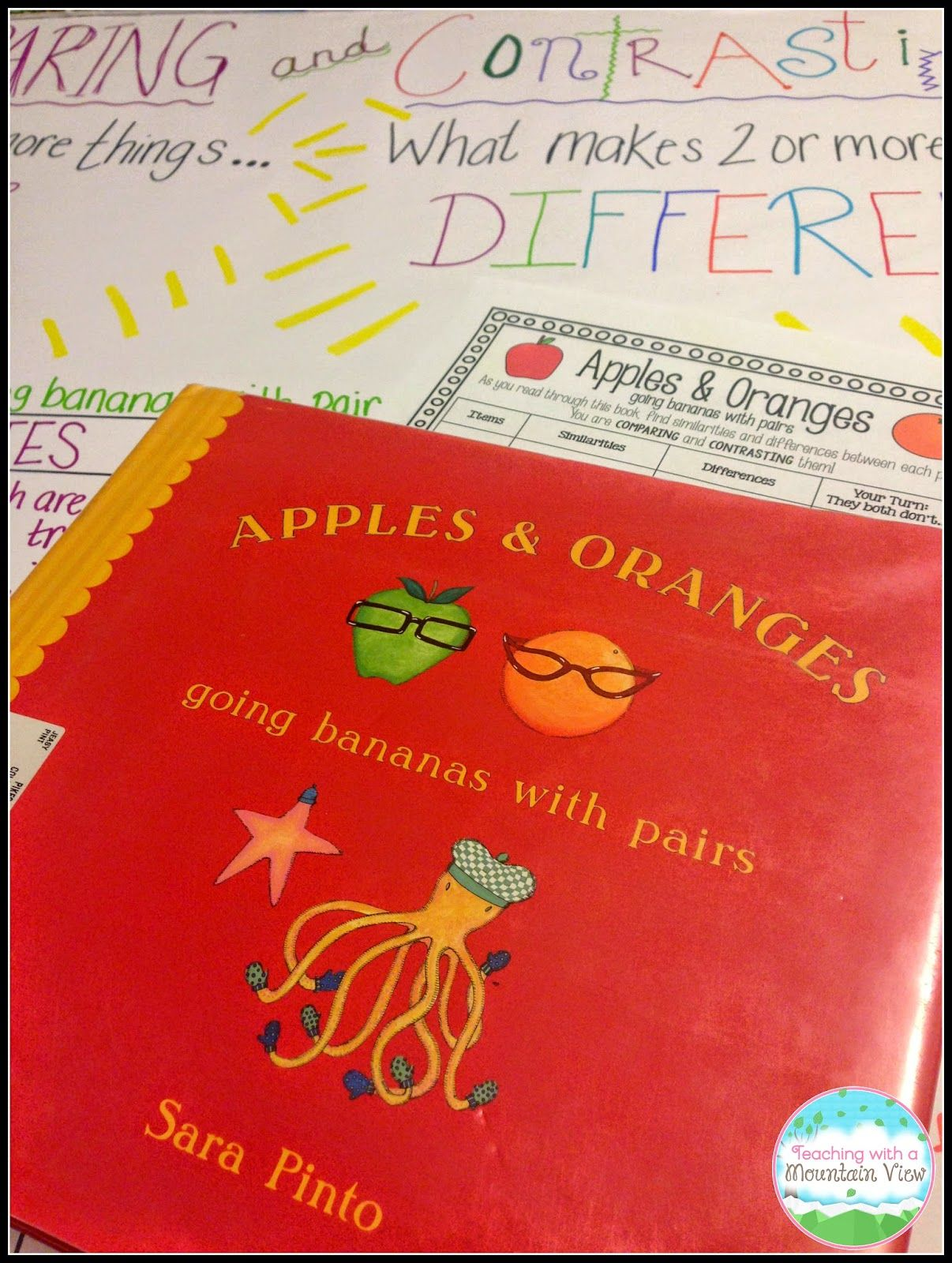 childrens books to compare and contrast