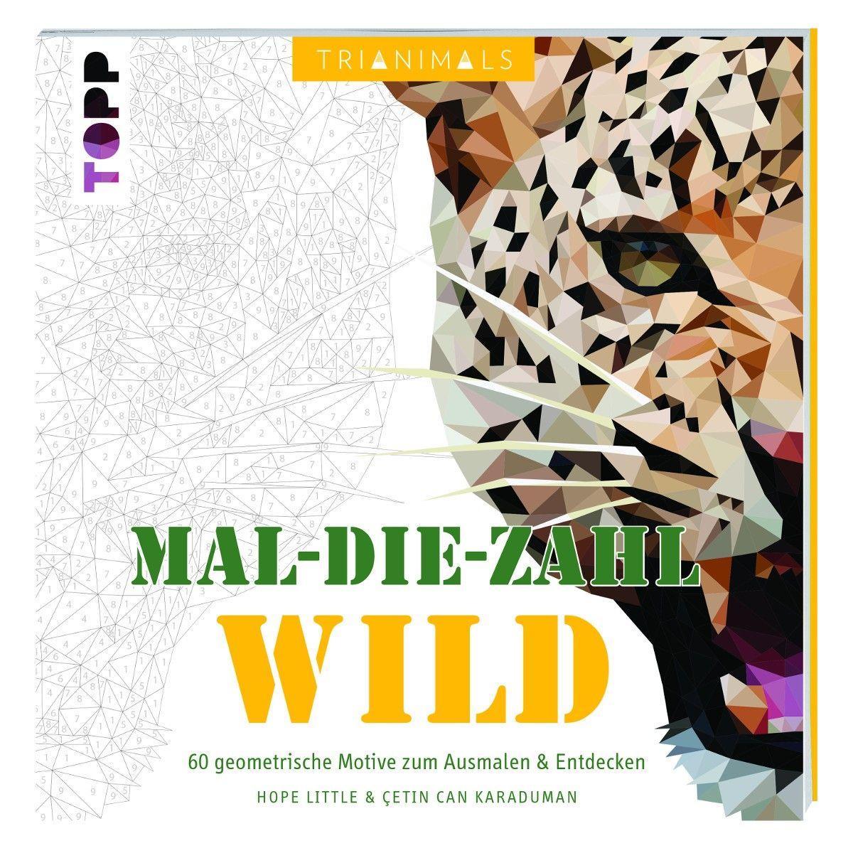 """Geometrie-Malbuch """"Wildtiere""""   Geburtstagsgeschenke   Pinterest ..."""