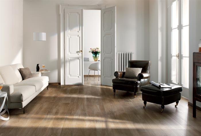 Gres porcellanato per pavimenti e rivestimenti effetto legno Nuances ...
