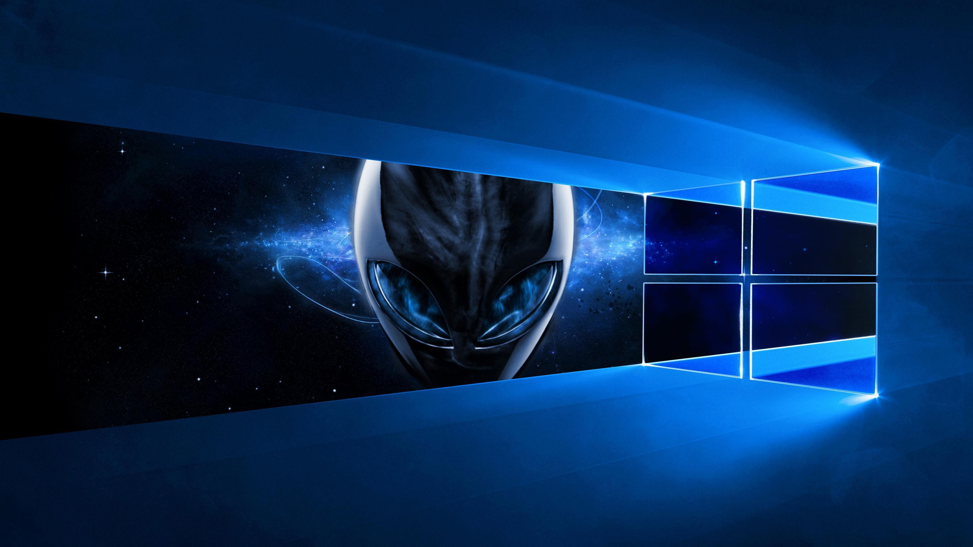 Windows 10 Alienware Wallpaper [3840x2160] - See more on Classy ...