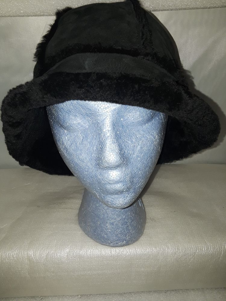 9107c805bd9 UGG Sheepskin Shearling Bucket Hat - Black One Size Fits Most (Women s)   fashion  clothing  shoes  accessories  womensaccessories  hats (ebay link)