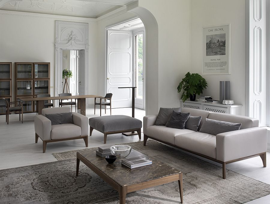 Cool Comfy Couches refresh your living room: trio of comfy modern sofas from porada