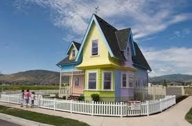 real life house from 'UP' !!!!!!