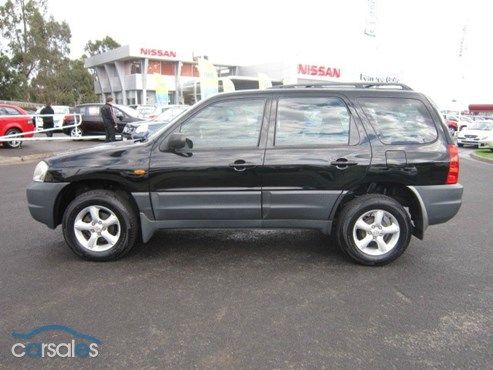 2005 Mazda Tribute V6 Ours Was Deep Red Metallic And Super Nice