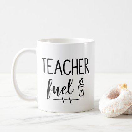 Teacher Fuel Coffee Mug | Zazzle.com #coffeequotes #Teacher Fuel Coffee Mug - #funny #coffee #quote #quotes #coffeequotes