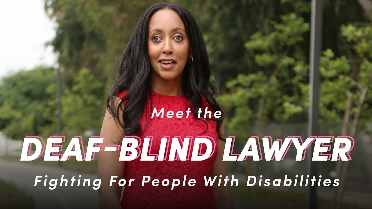 Meet the DeafBlind Lawyer Fighting For People With