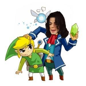 Michael Jackson is Link's dad?!