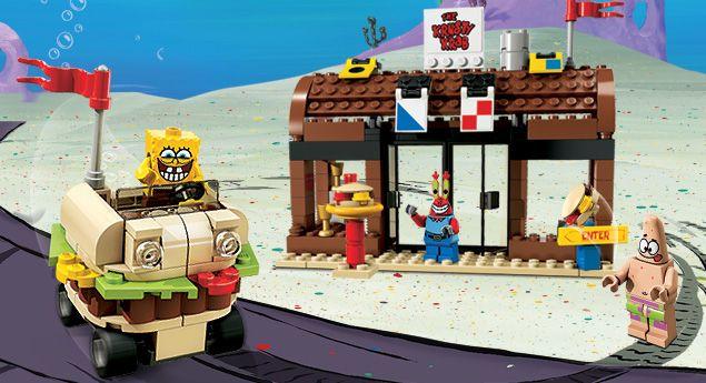 Spongebob Krusty Krab Adventures Kiddie Pinterest Legos Buy
