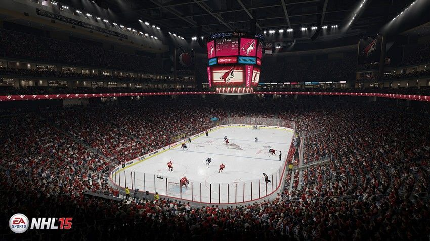 NHL 15 - Jobing.com Arena Home Ice: Arizona Coyotes Location: Glendale, Arizona Opened: December 26, 2003