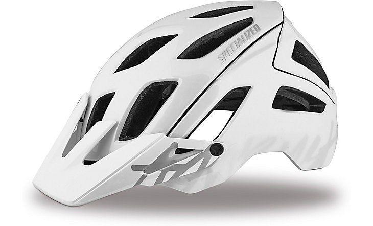 Specialized Ambush Mountain Bike Helmet Gloss White Grey