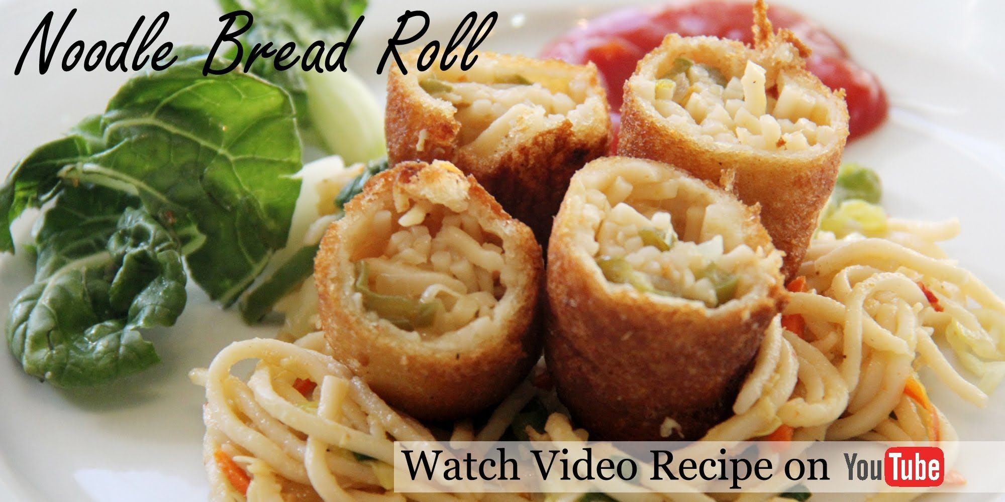 Noodle bread rolls recipe indo chinese snacks and appetizers noodle bread rolls easy indian appetizer starter recipes by shilpi forumfinder Image collections