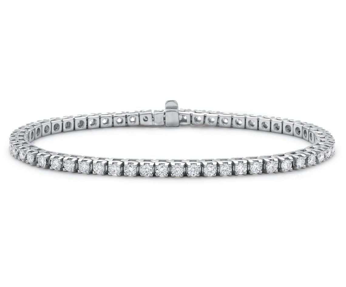 blue nile premier in product tennis diamond bracelet eternity platinum