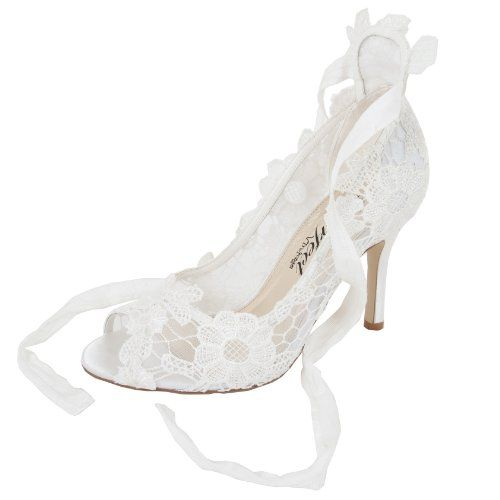Bridal Shoe Violet High Heel Bridal Shoe 4uk Perfect Bridal Http Www Amazon Co Uk Dp B00c76jqyg Ref Cm Sw Bridal Shoes Wedding Shoes Ivory Wedding Shoes