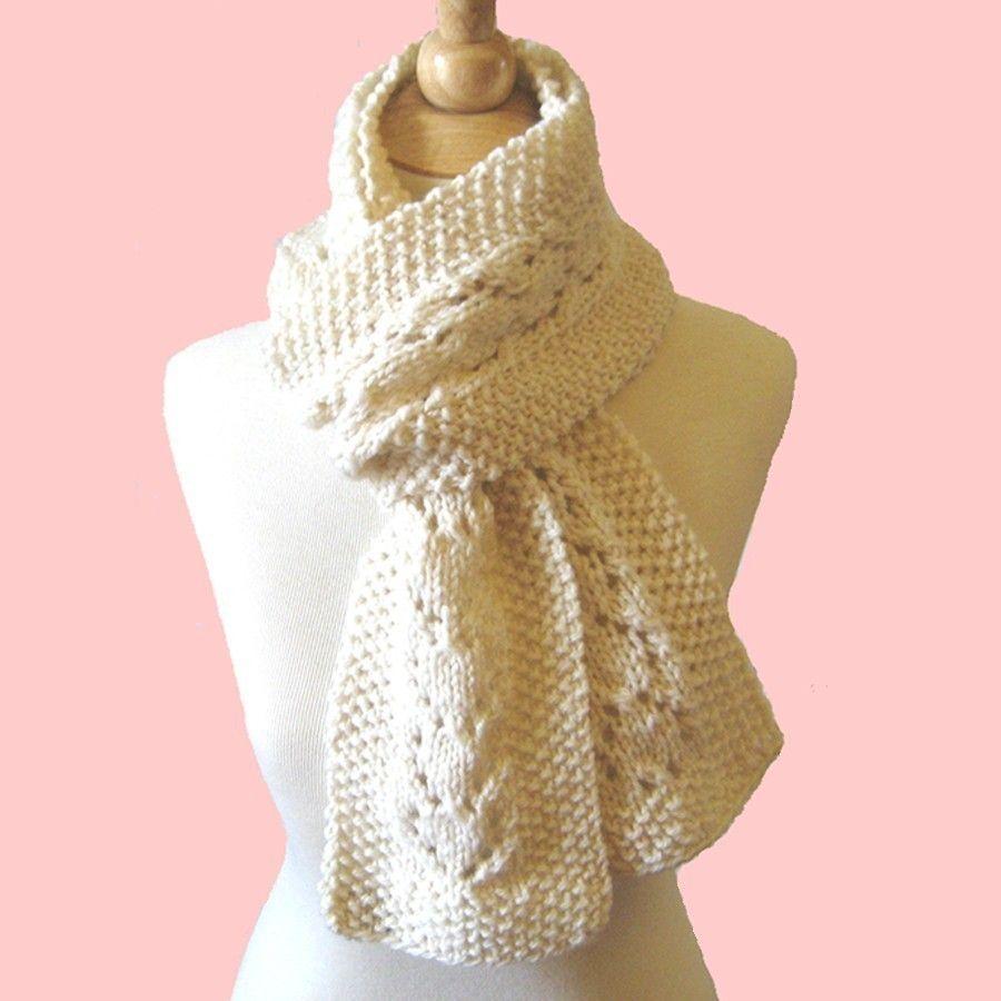 Lace Yarn Knitting Patterns : Knitting Pattern Heart Lace Scarf PDF. Yarn love - community pinboard Pin...