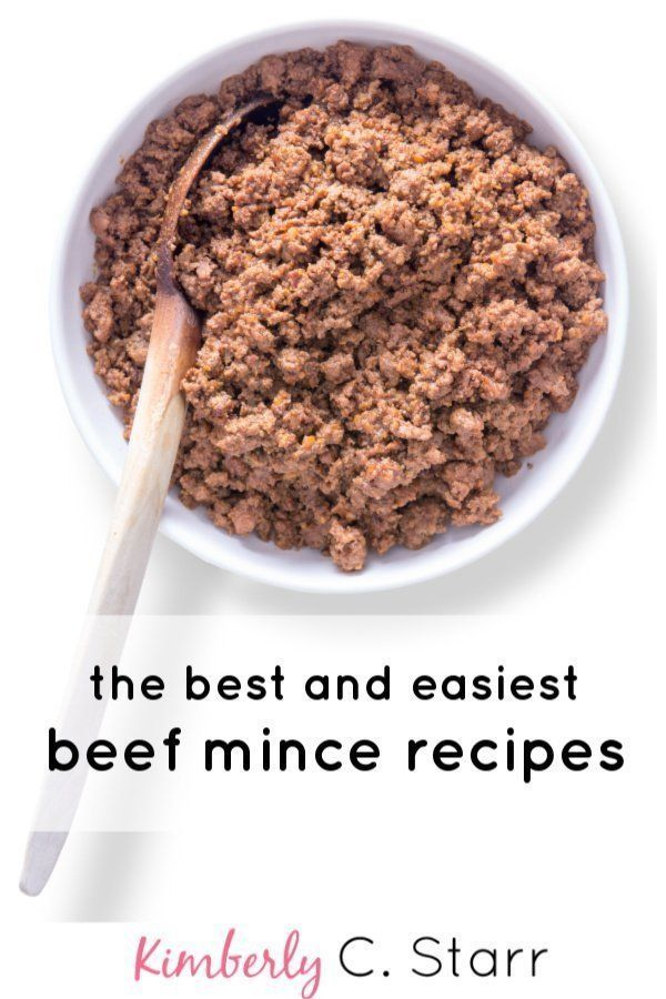 Quick and Easy Mince Beef Recipes for Busy Families | Food ...