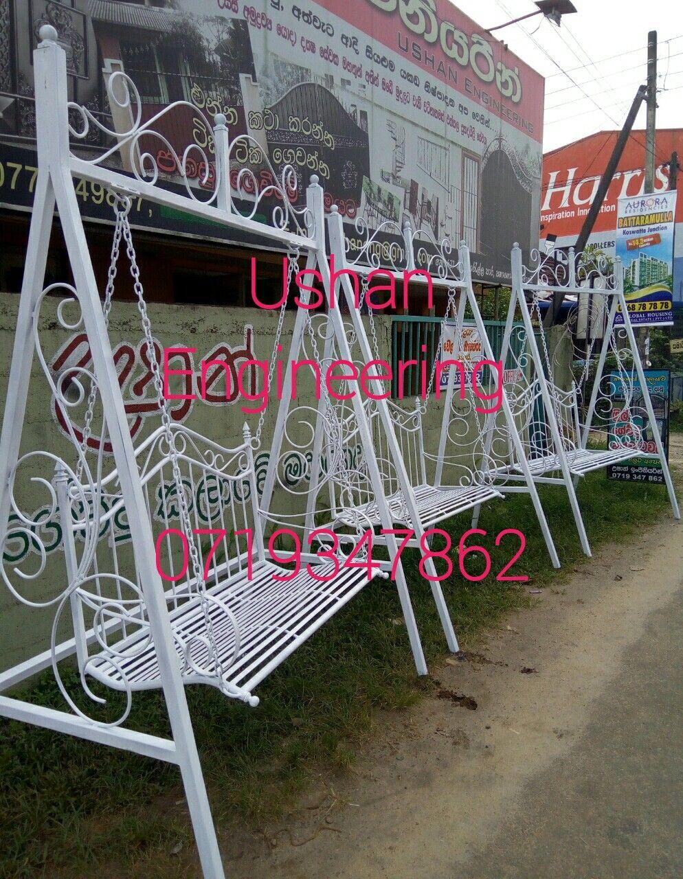 Swing Chair Sri Lanka Walmart Office Garden Steel Metal Grill Design Gate Handrail Window