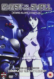 Ghost In The Shell Stand Alone Complex Poster Ghost In The Shell Female Cyborg Dystopian Fiction