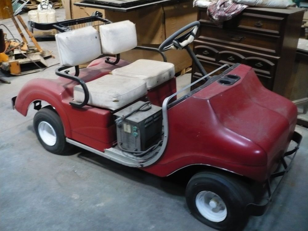 Early 1970s Pargo Golf Cart Parts Or Repair