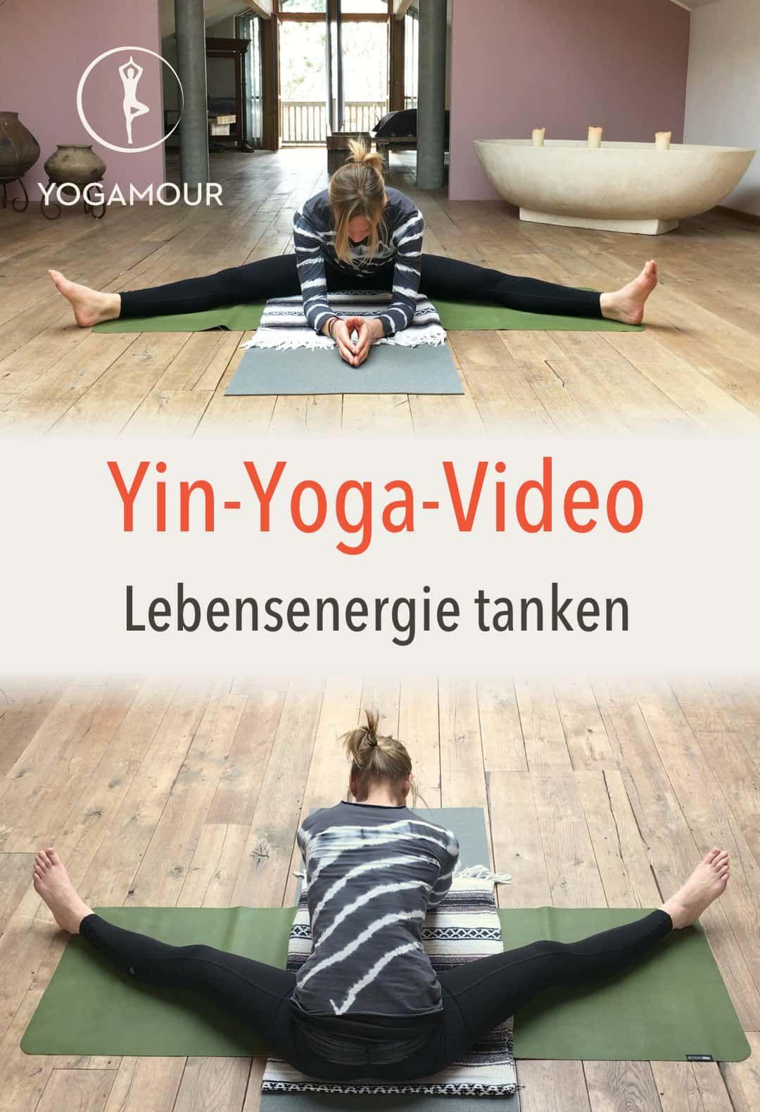 Mit Yin Yoga Lebensenergie tanken Speicher auffüllen Die gute Nachricht Wir sind quasi unsere eigene LebensenergieTankstelle Prana chi life force wie auch immer dies...