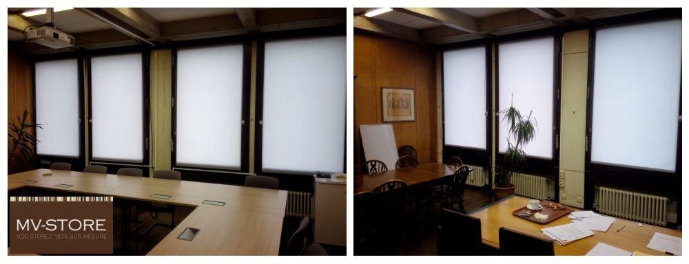 Store enrouleur translucide, Stores intérieurs pour le bureau, Liège