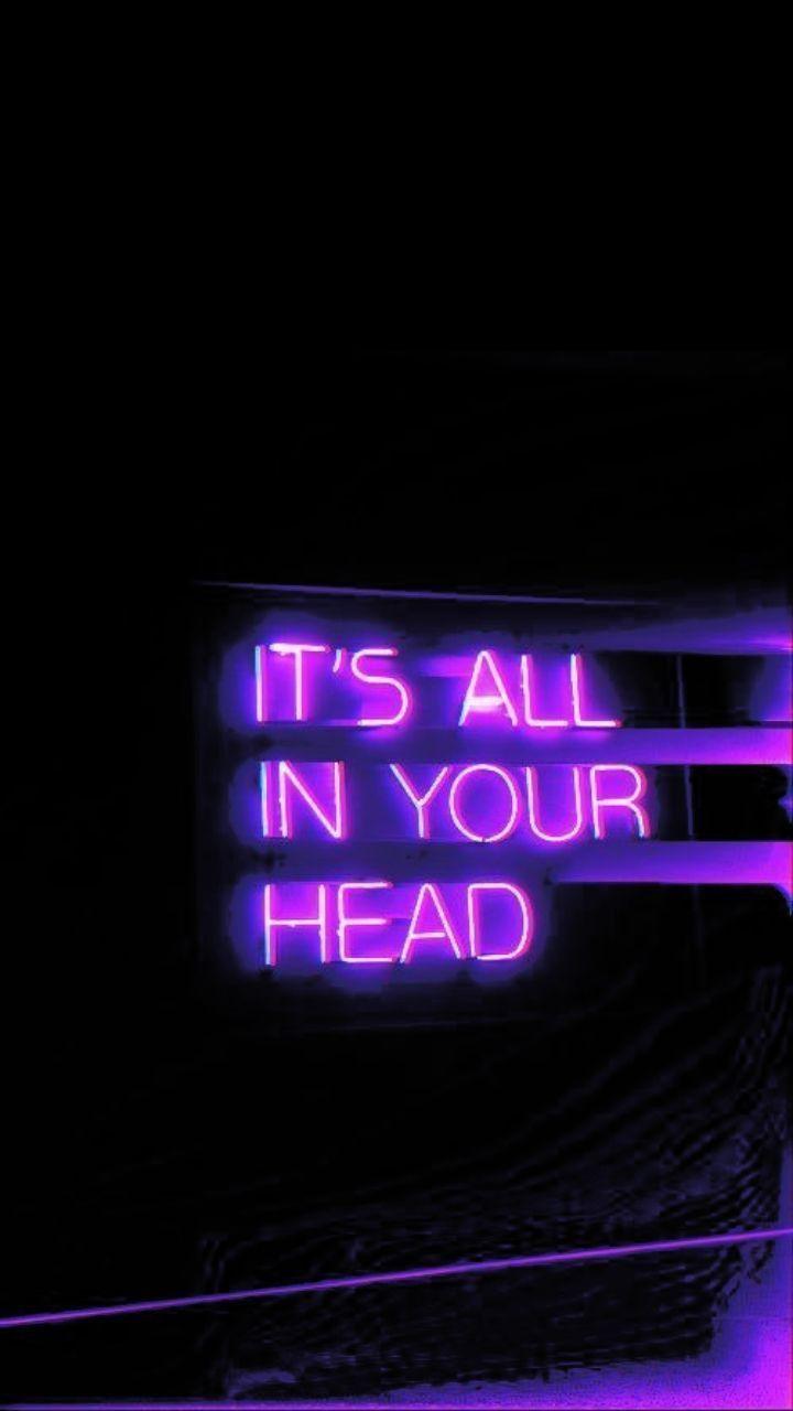 Aesthetic Neon Photo Wallpaper Iphone Neon Neon Quotes Neon Words