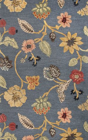 Jaipur Rugs Blue Garden Party Bl130 Indigo Area Rug