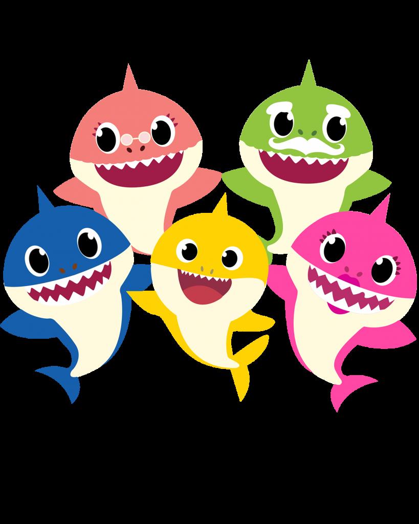 Imagenes PNG de Baby Sharks - Mega Idea en 2020   Png ...