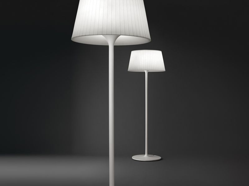 Floor Lamp Plis Outdoor Floor Lamp Vibia Grupo T