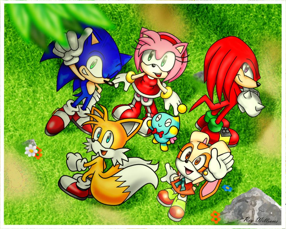 Sonic Advance 3 Photo Remake by Reykun132 on DeviantArt