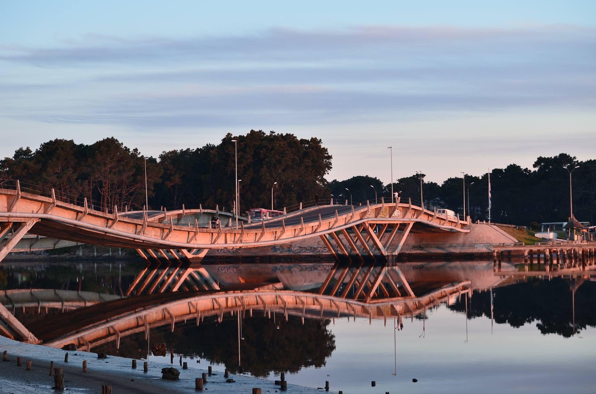 Puentes de la Barra. Arroyo Maldonado. Uruguay