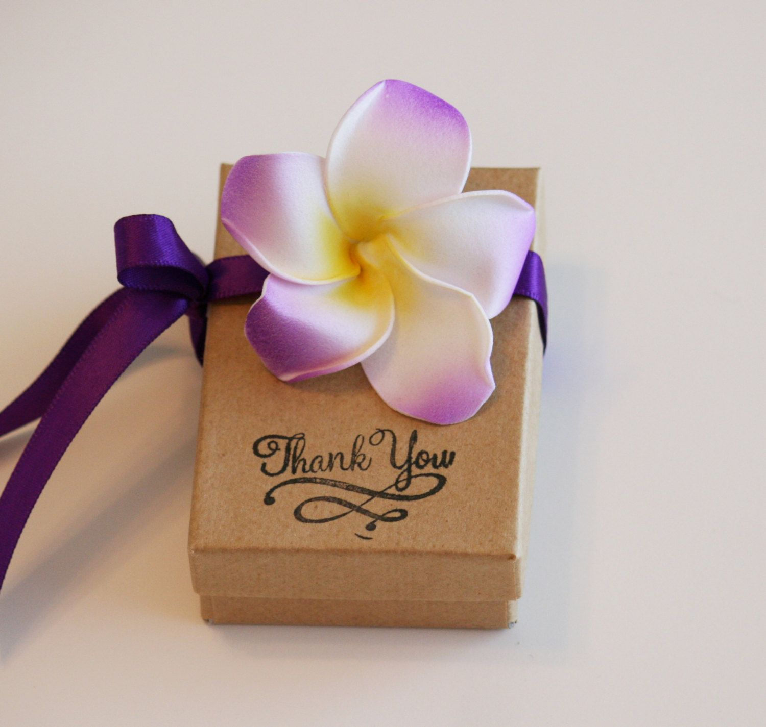 Purple Wedding Favor Box Set Of 10 Gift Beach By Glamourwed 35 50
