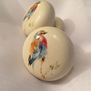 Painted Bird Mortice Door Drawer Cupboard Knob | Rénover | Pinterest ...