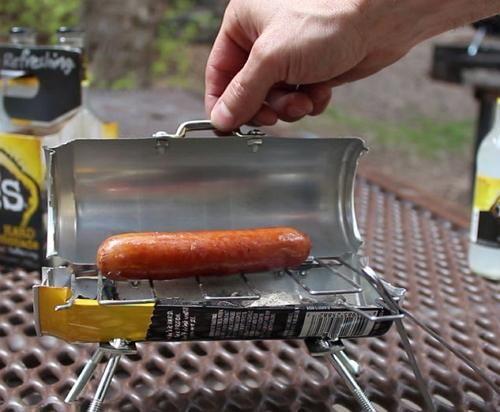Мини-мангал из пивной банки | Отдохни / mini gril | Fireplace ...