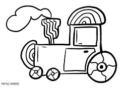 Disegni Di Treni Da Colorare 1 Disegni Di Macchine Da Stampare E Colorare Gratis Portale Bambini Train Coloriage Coloring Disegni Colori Disegni A Mano