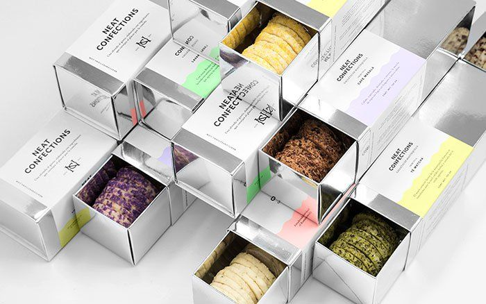 20 beautiful packaging design ideas for cookies box Pinterest - creative packaging ideas