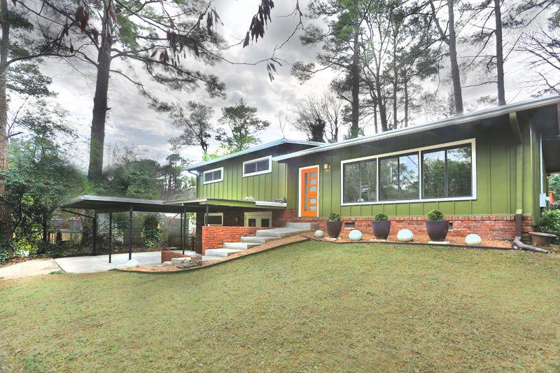 Image result for mid century modern homes Miller house Pinterest