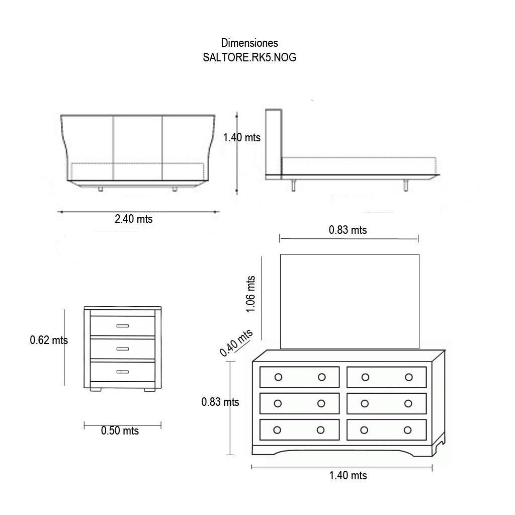 Medidas de muebles de sala de estar id ias for Medidas de muebles de una casa