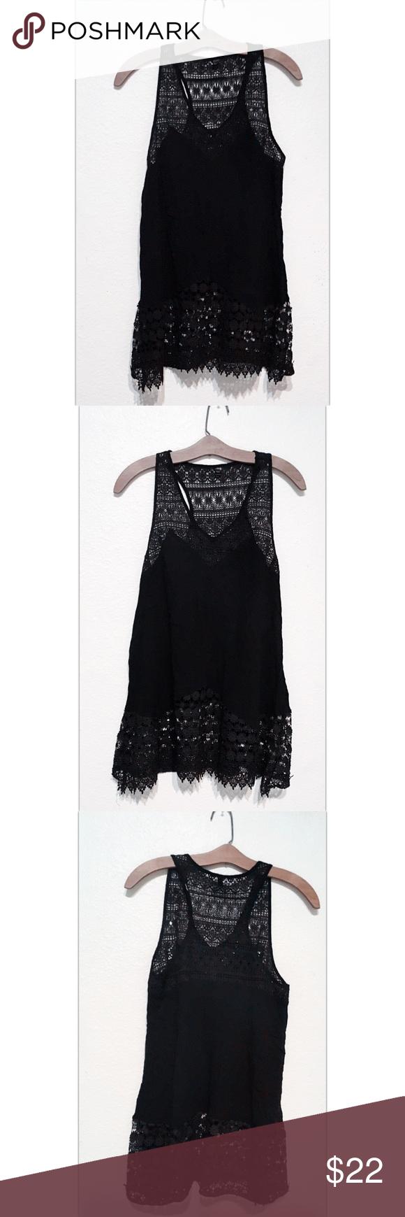 Black Lace Cover Up Mini Dress Black Lace Cover Up Mini Dress Size Medium Pacsun Solid Black Semi See Through Mini Dress Mini Black Dress Lace Dress Black [ 1740 x 580 Pixel ]