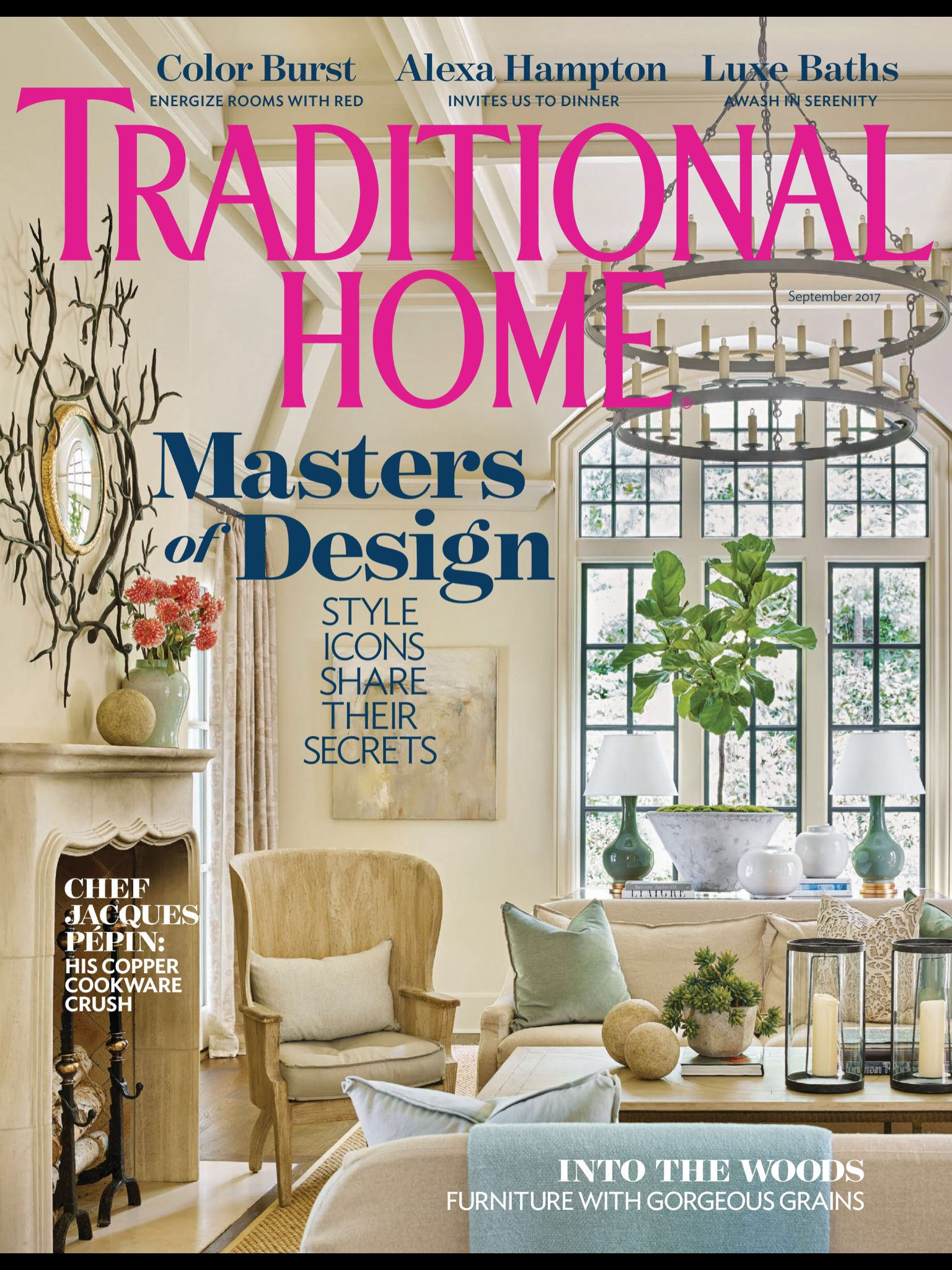 """""""Cover"""" from Traditional Home, September 2017. Read it on ..."""