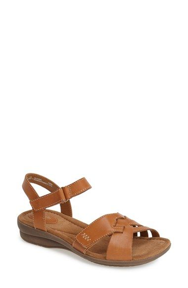 a67539390f62 Clarks  Reid Laguna  Leather Sandal (Women)