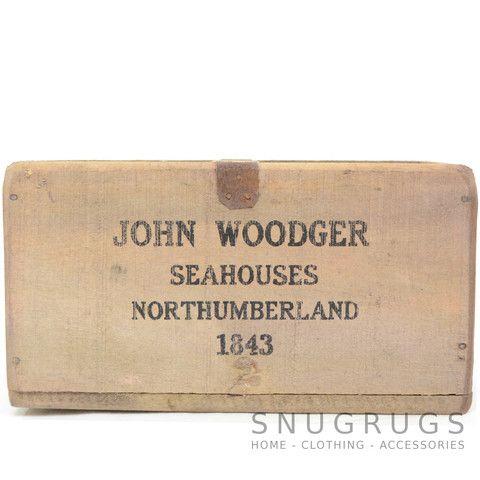 Rustic Wood Kipper Box