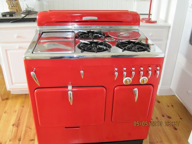 Red Chambers 61c Full Restoration Stoves For Sale Vintage Stoves Stove