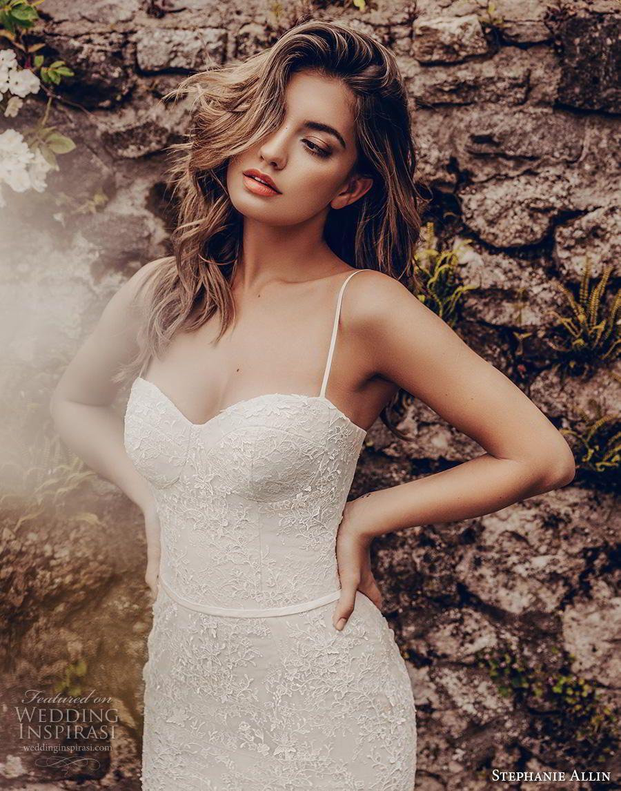 Blush mermaid wedding dress  Stephanie Allin  Wedding Dresses u ucLove Storiesud Bridal